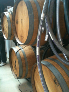 Victorianbourg Wine Estate's French oak wine barrels