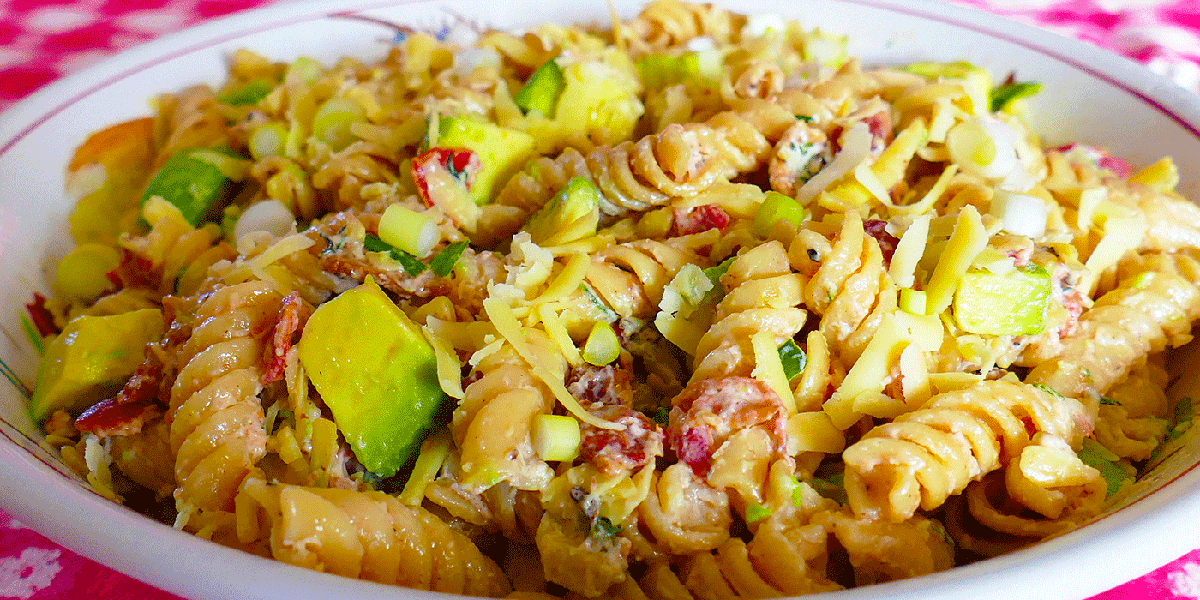 Victoria Cellars' BLT pasta salad recipe